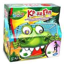 Hasbro A3053 Kroko Fußball Star Kinderspiel Spielzeug Familienspiel Kinderspiel