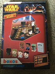 Funko Star Wars Boxos Paper craft Play set