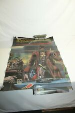 Iron Maiden Vintage 1986 Poster Stranger in a Strange Land 22 x 33
