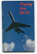 FLYING THE VC10 BOOK BOAC B.O.A.C. VICKERS 1960'S - BRILLIANT PICTURES