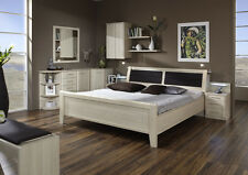 Wieman Luxor German Double Bed with Storage in Light Ash Repro