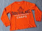 Chaps Boys Printed T Shirt - ORANGE - SIZES - 10-12 . 14-16 & 18-20 YEARS - NEW