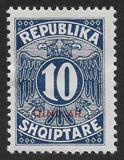 Albania 1925 Mi. 26  Postage Due 10 Q (C1)