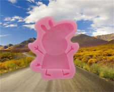 Aus Seller....PEPPA PIG Fondant/chocolate Silicone Mould...7cm x 8 cm....new