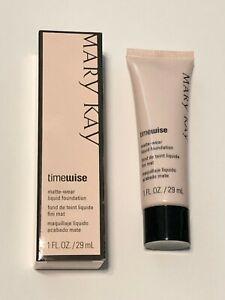 Mary Kay Timewise Matte-Wear Liquid Foundation ~ Ivory 2 038751 ~ 1 oz.