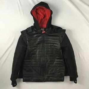 DISNEY STAR WARS Kylo Ren youth 9/10 jacket black red boys hooded hood costume