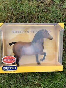 Breyer Horse 1278 Trait du Nord French Belgium NEW OLD STOCK Traditional Model