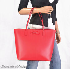 NWT KATE SPADE SAWYER RED LEATHER TORI TOTE SHOULDER BAG PURSE HANDBAG SATCHEL