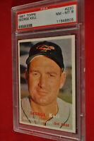 1957 Topps - George Kell - #230 - PSA 8 - NM-MT