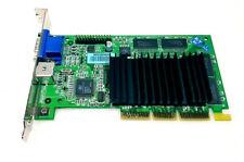 AGP card NVIDIA 180-P0009-0000-C02 PWA-G4000 Pro Graphic 179250-002 S Video VGA