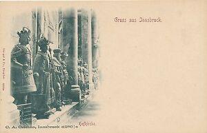 INNSBRUCK – Hofkirche Gruss Aus Innsbruck – Austria – udb (pre 1908)