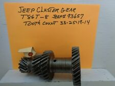 JEEP 3 SPEED CLUSTER GEAR T86T-8 JEEP# 936357 TOOTH COUNT 33-25-19-14