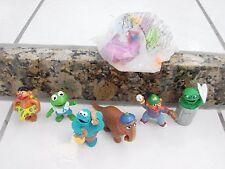 Vintage Applause Sesame Street Muppets 1980' PVC Figures Snuffleupagus Gonzo