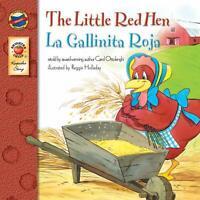La Gallinita Roja Libros En Español y Ingles Para Niños De 3-5 Años Aprender Mas