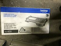 New - Brother Genuine TN420 Mono Laser Toner Cartridge  Black NO BOX