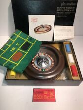 Vintage Pleasantime Roulette Game - with box, chips, xtra ball & pro book