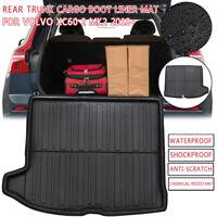 Kofferraummatte Kofferraumwanne Gummierte Wasserdicht Für Volvo XC60 2 MK2 2018+