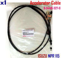 For Isuzu NPR 115 Accelerator Cable Line Wire Steel Support New