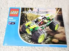 Lego 8356 Jungle Monster Racers Instruction Booklet Manual ONLY Shows 3 Models