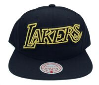 Los Angeles Lakers Mitchell & Ness Crop Neon XL HWC Adjustable Snapback Cap Hat