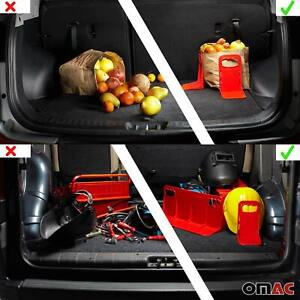 Cargonizer Trunk Cargo Organizer Stopper With Straps 3 Pieces for Audi