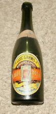 New listing 1880's Paper Labeled Joeph Gahm Boston Ma Schlitz Brew Co. Milwaukee Wi Bottle