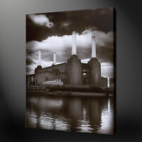 BATTERSEA POWER STATION LONDON CANVAS PRINT WALL ART PICTURE READY TO HANG