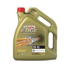 Castrol Edge Turbo Diesel 5W-40 Motoröl mit Titanium FST, 5 Liter