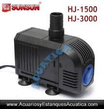 SUNSUN HJ-1500 1500l/h, bomba de agua acuario estanque fuente cascada regulable