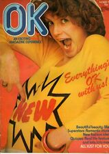 OK Magazine 3 May 1975     Rod Stewart     Hello