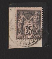 *FRANCE*    Peace & Commerce,  25c,  Used