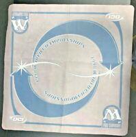 Rare 1998 World Championships Wizards of the Coast Spellground Playmat W/Sharpie