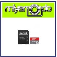 Sandisk Ultra 64GB Micro SDHC Memory Card with Adapter