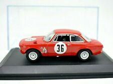 MODELLINO AUTO ALFA ROMEO GIULIA GTA 36 SCALA 1:43 DIECAST MODELLISMO STATICO M4