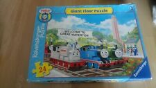 Thomas And Friends Giant Floor Jigsaw Puzzle 24 Pieces Ravensburger Tank Engine