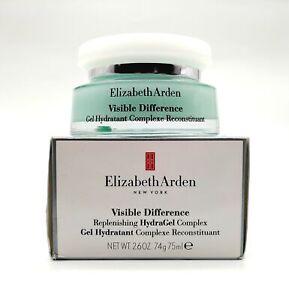 Elizabeth Arden Visible Difference Replenishing HydraGel 75ml -NEW- Damaged Box