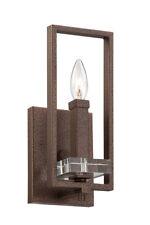 Designers Fountain 84301-FBZ Fieldhouse 1 Light Flemish Bronze Wall Sconce