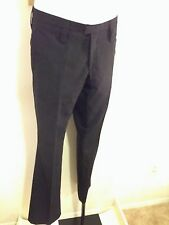 J. Lindberg Men's suit dress Pants 52 US Size Large 100% Wool Stockholm Sweden