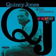 At Newport '61 - Quincy & His Orchestra Jones (2016, Vinyl NEUF)