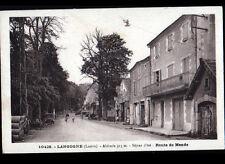 LANGOGNE (48) POMPE à ESSENCE au GARAGE CONCESSIONNAIRE CITROEN , Route de MENDE