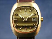 NOS Vintage Jaquet Girard Airvac 6000 Automatic Watch 1970s Tissot Cal 784-2