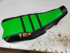HONDA TRX 450r TRX450r seat cover STRAP GRIPPER LIME GREEN SEAT COVER