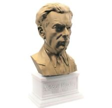 Aldous Huxley 3D Printed Bust Famous English Writer Art FREE SHIPPING