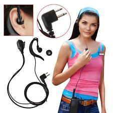 2 PIN PTT Mic Earpiece Headset for Motorola GP88 GP300 GP2000 CT150 P040 Radio C