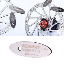 Adjusting MTB Bike Bicycle Disc Brake Pads Spacer Tool Mounting Assistant Rotor