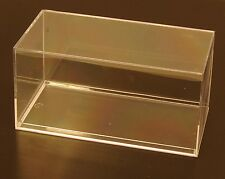 Acrylic Display Cases (24) New 1:32 Scale or Smaller 1:24 Cars Trucks Dolls 083