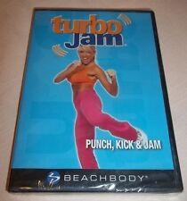 Beachbody Turbo Jam Punch, Kick & Jam DVD New Unopened