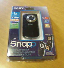 Coby Snapp Cam3001 Digital Camcorder - 2 Hr Recording, 4X Zoom, 1.3Mp New/Sealed