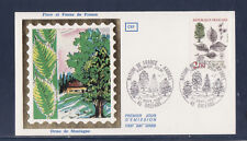enveloppe 1er jour  nature les arbres   2f  45  Orléans       1985
