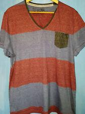 Burton Cotton Blend Short Sleeve Loose Fit T-Shirts for Men